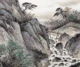 刘金河 四尺《清泉出岫》 国家画院山水名家