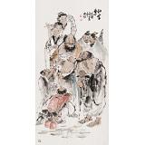 杨西沐 四尺《仙家乐》 东方书画院名誉院长