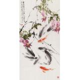 【已售】孙海峰 四尺《春向碧波深处游》 安徽省美协会员