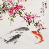 孙海峰 四尺斗方《游乐图》 安徽省美协会员