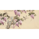 皇甫小喜 四尺《紫气东来》 河南著名花鸟画家