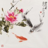 孙海峰 四尺斗方《神游图》 安徽省美协会员
