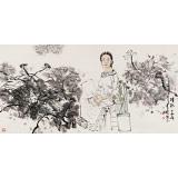 杨西沐 四尺《清秋》 东方书画院名誉院长