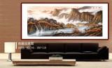 张慧仁 小八尺《秋山流泉》 广西山水画家协会常务理事