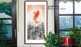 周升达 三尺《红运当头》 中国画院国画组长(询价)