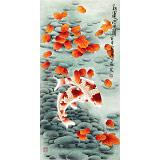 【已售】南海禅寺 妙林居士 三尺《红运当头》