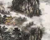 申凌翔 四尺三开《雨润漓江三月天》 广西最新博彩大全名家