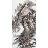 【已售】张春奇 三尺《黄山雨后 峰松如洗》 徐悲鸿纪念馆艺术中心理事(询价)