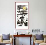 张春奇 三尺《月是故乡明》 徐悲鸿纪念馆艺术中心理事(询价)