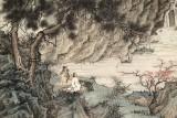 【已售】吴显刚 四尺《高山流水》 贵州七星关美协主席