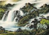 杨铭昌 小八尺《源远流长》 安徽山水画研究协会理事