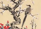 朱祖义 四尺《玉树临风喜报春》 中国老子书画院副院长