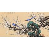 朱祖义 四尺《报春图》 中国老子书画院副院长
