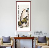 刘纪 三尺国画《望秋》 河南著名老画家