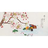 凌雪 三尺《和和美美》 北京美协会员