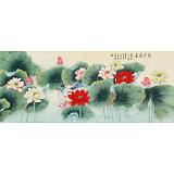 凌雪 小六尺《清香溢远》 北京美协会员