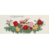 【已售】凌雪 小六尺《富贵吉祥》 北京美协会员