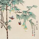 【已售】凌雪 四尺斗方《惠风和畅》 北京美协会员