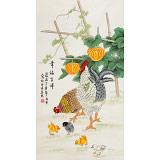 凌雪 三尺《幸福吉祥》 北京美协会员