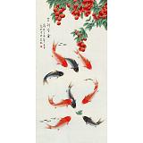 【已售】凌雪 四尺《吉利有余》 北京美协会员