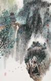 谭良干 大三尺《雨后青山》 贵州最新博彩大全名家