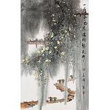 谭良干 大三尺《一夜春风来 满树梨花开》 贵州19461188伟德名家