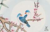 【已售】凌雪 四尺斗方《花好月圆》 北京美协会员