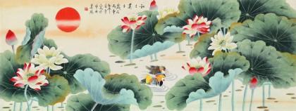 凌雪 小六尺《和和美美》 北京美协会员