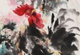 尹和平 四尺《富贵大吉》 当代乡土童趣绘画名家
