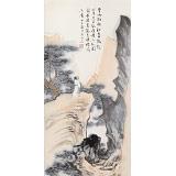 刘显辰 小尺寸《秋日登山图》 辽宁著名山水画家