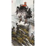 【已售】李宪章 四尺《睥睨中原三万里》 东方书画院名誉院长