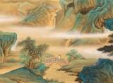 【已售】何实 1.5米《白云桥山客 信步可成诗》吉林著名19461188伟德家