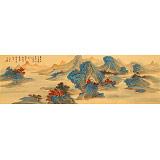 何实 1.5米《几度秋山入画屏》吉林著名山水画家