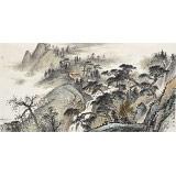 刘金河 四尺《松泉幽居图》 国家画院山水名家