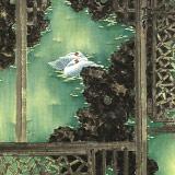 张增丽 四尺斗方《双栖》 中美协会员 中国画院画家