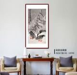 王永刚 三尺《雪芦雁棲图》 国家一级美术师(询价)