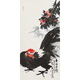 【已售】周自豪 三尺《大吉大利》 当代著名禅意画家