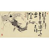 周自豪 三尺《龙凤呈祥》 当代著名禅意画家