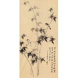皇甫小喜 四尺《墨竹》 河南著名花鸟画家