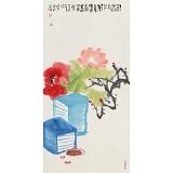 周自豪 三尺《书香门第》 当代著名禅意画家