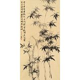 皇甫小喜 四尺《画竹》 河南著名花鸟画家