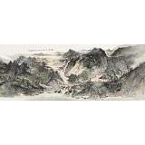 管旺林 小六尺《阳春三月》 广西省美协会员 学院派画家