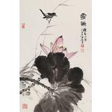 丁白丁 《灵气》83岁山东著名老画家 崔子范艺术馆馆长