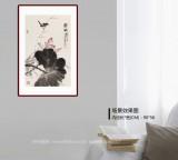 【已售】丁白丁 《灵气》83岁山东著名老画家 崔子范艺术馆馆长