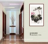 【已售】庾超然 四尺三开《出淤泥而不染》丨新春特惠 原售价780
