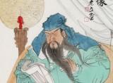 曹建涛 四尺《关帝圣君像》 独具特色水墨19461188伟德家