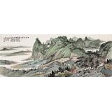 廖崧越 小六尺《江山寻胜》 广西桂林美协会员