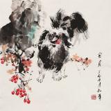 尹和平 四尺斗方《宝贝》 当代乡土童趣绘画名家