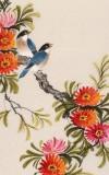 【已售】凌雪 四条屏《四季年华》 北京美协会员