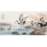 朱祖义 四尺《和谐家园》 中国老子书画院副院长